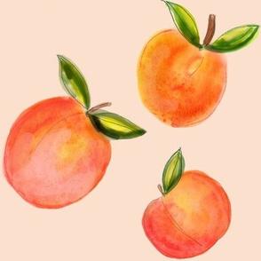 Peachy Keen Watercolor  // Peachy Tan Neutral?