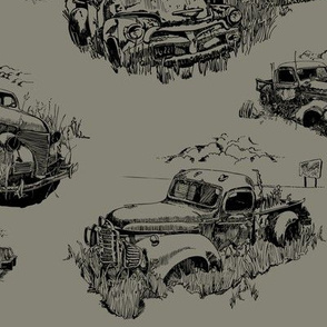 Toile of Forgotten Trucks