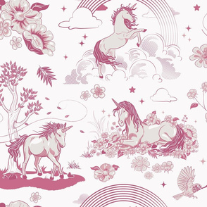 Magical Unicorn Toile