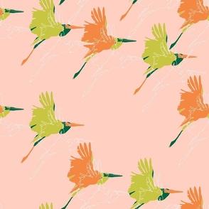 marabou stork pink