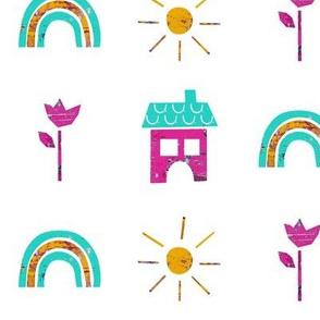 Sunny Rainbow Days