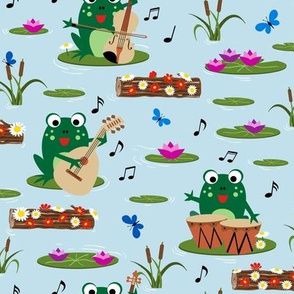 Jammin Frogs