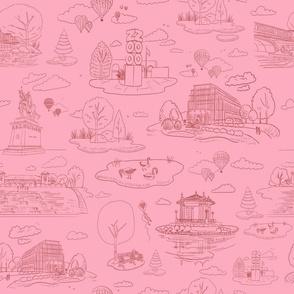 Forest Park STL Pink2- Large