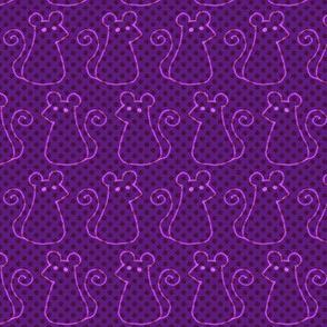Doodle Mouse - Violet