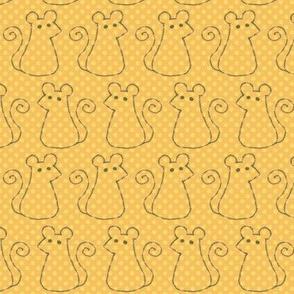 Doodle Mice - Sunny