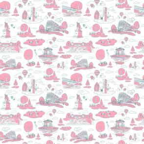 Forest Park STL PinkBlue-Medium