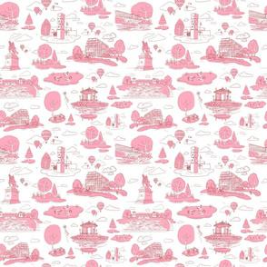 Forest Park STL Pink-Medium