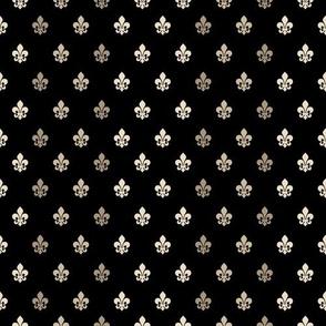 Fleur De Lys-Black & Gold grid2