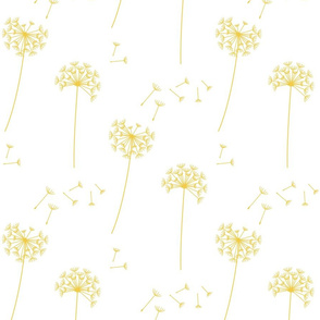 dandelions {1} lemon zest earthy tones