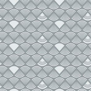 Puddy Gray Geometrics - LG