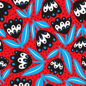 Big Bloom, Blue&Red