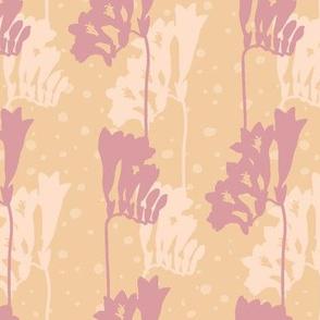 Freesia Silhouette-L-Pastel