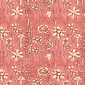 lazy daisies rosy pink