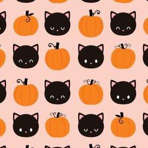 Black Cats and Pumpkin