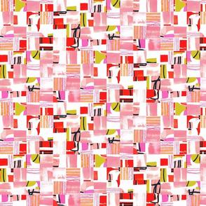 Bauhaus Collage - Pink