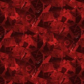 XOXO Modern Texture - Red