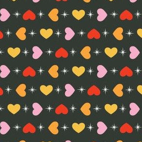 Hearts and Sparkles