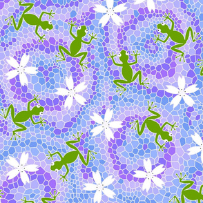 midsommer frogs flowers D cleaner lines spoonfloer small file