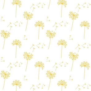 dandelions {1 smaller} lemon zest earthy tones 25% smaller scale