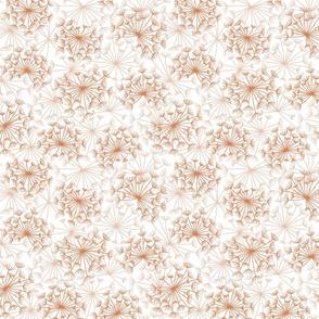 dandelions {3} terracotta