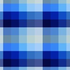 Blue Ocean Gingham V01