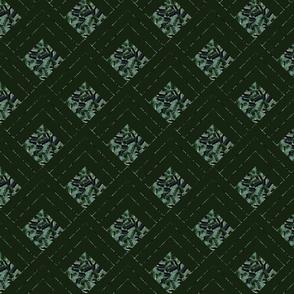 Petra Bonny paaslelie groen bergen