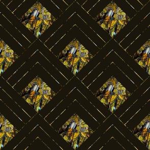 Petra Bonny paaslelie geel bergen_