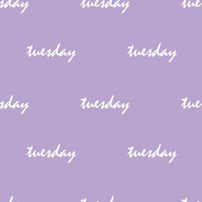 lavender tuesday