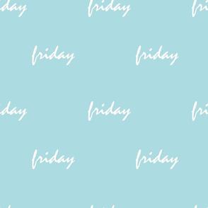 turquoise friday