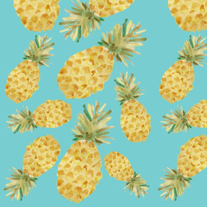 Pineapple Party - Teal