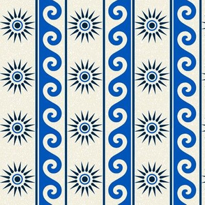 Grecian Waves Vertical