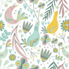 Boho Birds