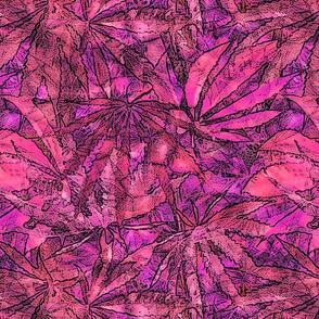420 Magenta Batik
