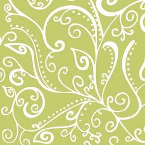 Silent Era Avocado Green