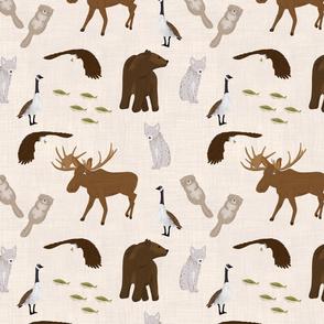Canadian Wildlife Coordinate (lite)