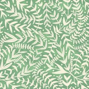 Never ending leaves / botanical vines // simple greenery