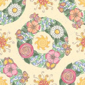 Midsummer Flower Wreaths