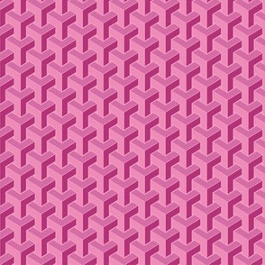 Polygon Dreams Pink