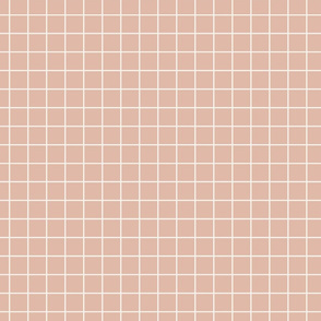 1 inch grid // Pink Villa Grid