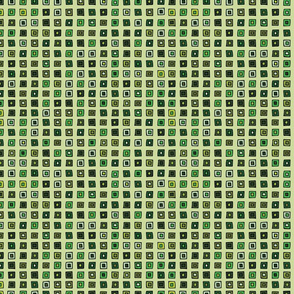 Organized Squares - Green