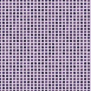 Organized Squares - Purple
