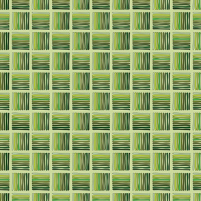 Hashed - Green