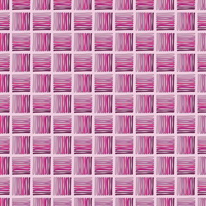 Hashed - Pink