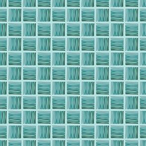 Hashed - Turquoise