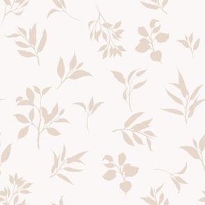 Botanical Beige Brown