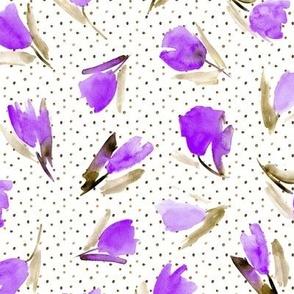Juliet's tulips - watercolor flowers p296
