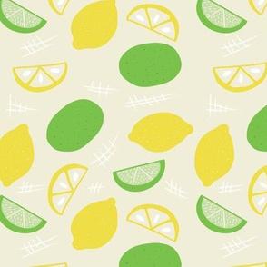 Fun Fruit: Lemon Lime Yellow & Green