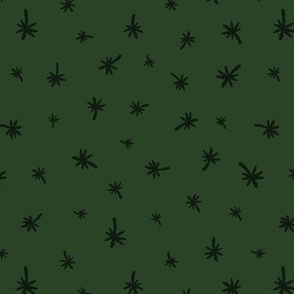 Litlle Palm Trees green