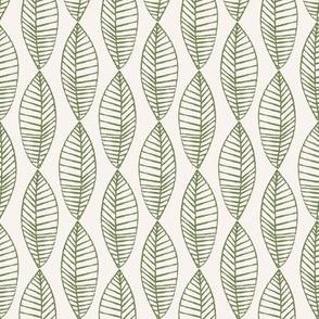 Palm Leaf Offwhite