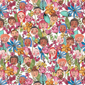 Happy faces midsummer festival